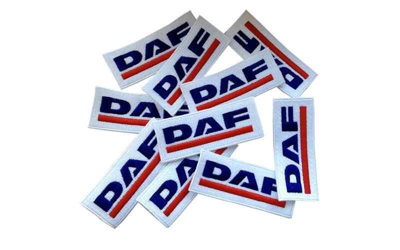 Komplet yyšívaná nášivka DAF.