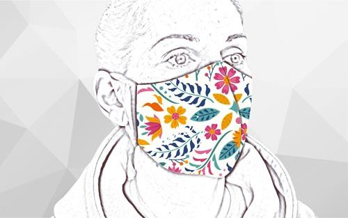 Textilné rúška na tvár.