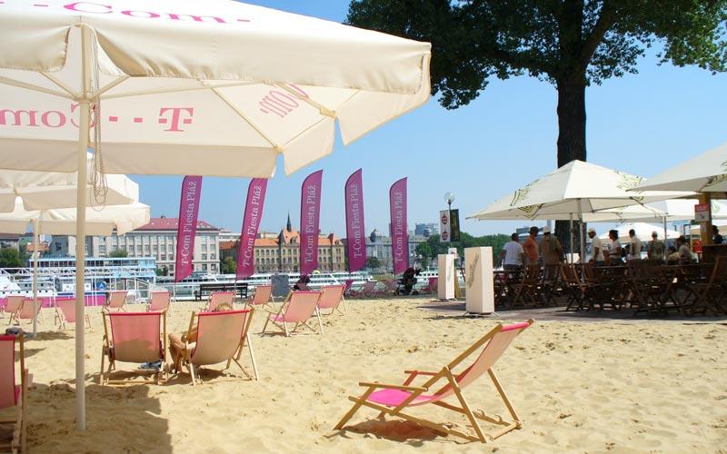 Naše produkty na Magio pláži.