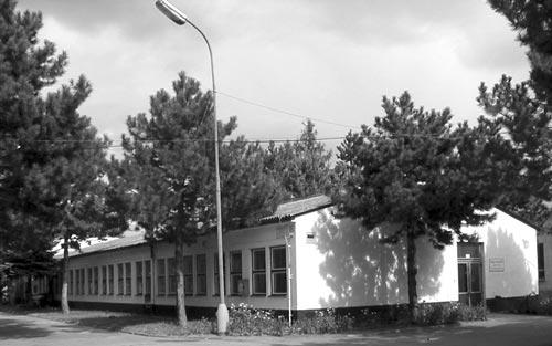 Budova a prevádzka firmy TEX-PRINT v.d. Gajary
