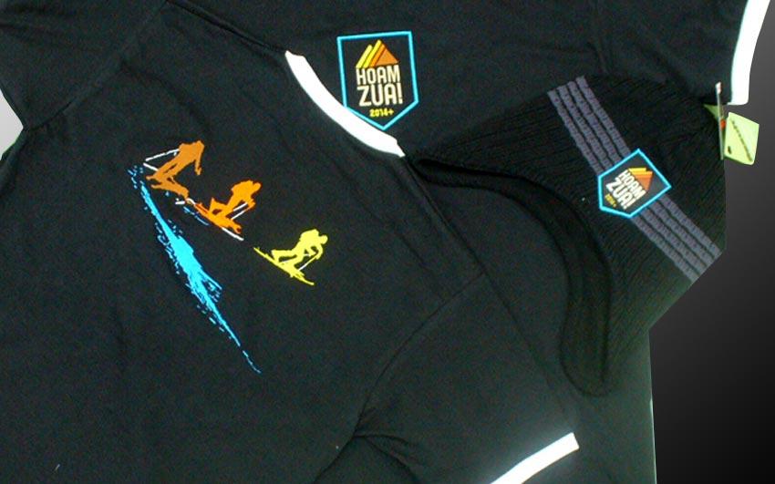 Výšivka na rôzne druhy textilu.