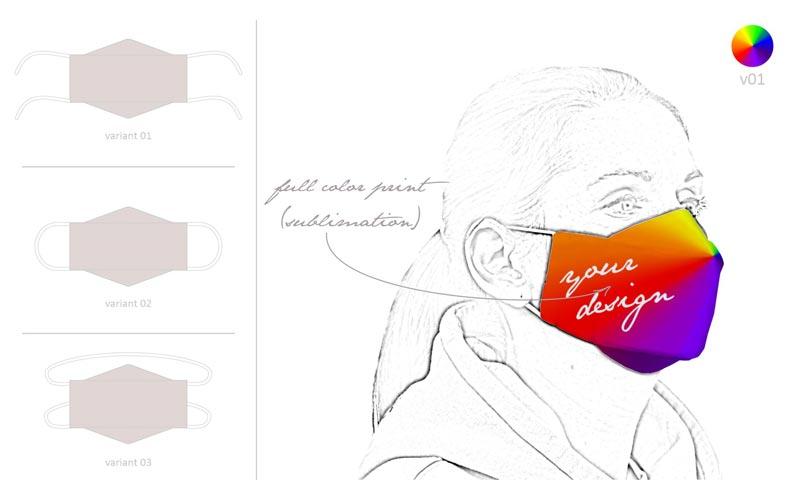 Rúško na tvár   ARMOR Print