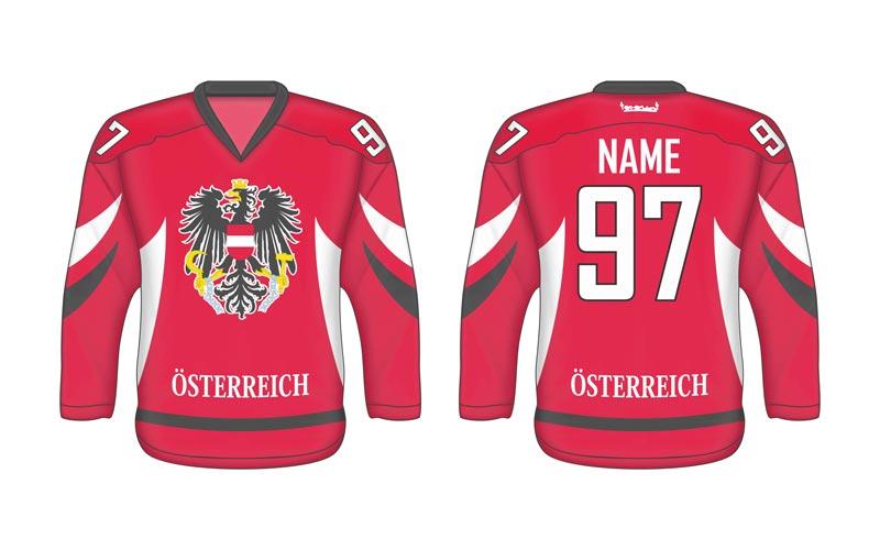 Rakúsky hokejový dres AT 1