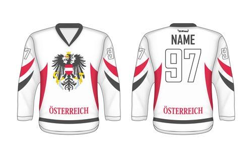 Hokejový dres Rakúsko AT 2