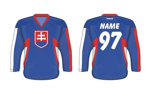 Slovak ice hockey jersey SVK 1