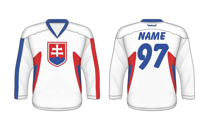 Hokejový dres Slovenska SVK 1