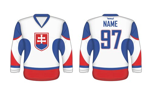 Slovak ice hockey jersey SVK 2