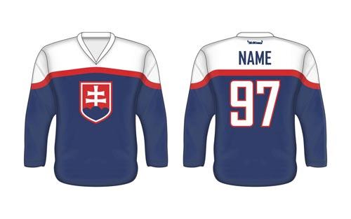 Slovenský hokejový dres SVK 4