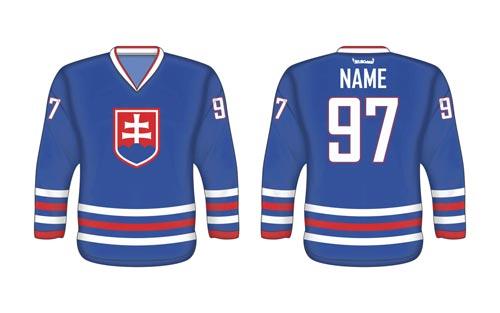 Slovenský hokejový dres SVK 3