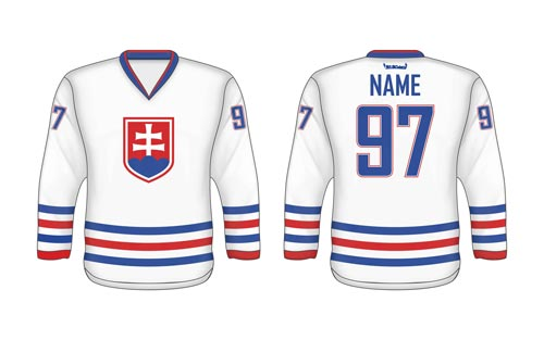 Slovak ice hockey jersey SVK 3
